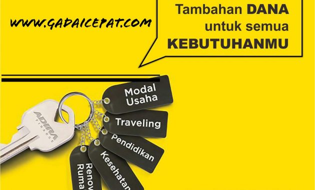 Tempat Gadai BPKB Motor dan Mobil di Padang Bunga Ringan ...